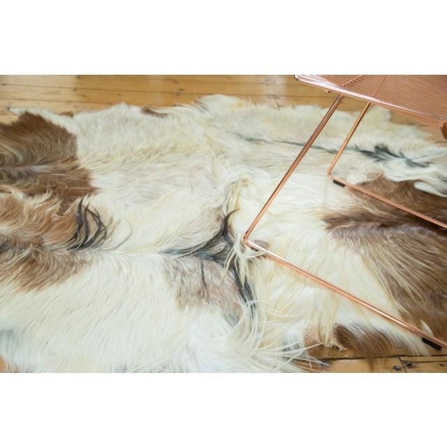 "Turkish Angora Skin Rug - 4'3"" x 5'5"" - Image 3 of 4"
