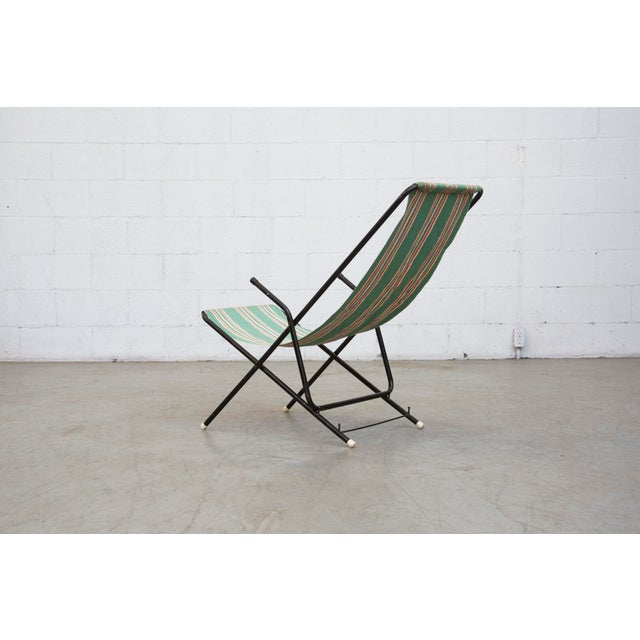 Vintage Pilastro Style Beach Sling Chair - Image 4 of 10