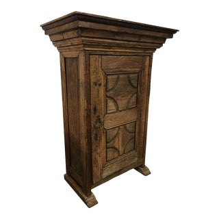 Mexican Carved Armoire For Sale