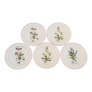 Botanic Italian Plates - Set of 5