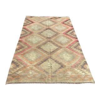 Vintage Turkish Kilim Rug For Sale