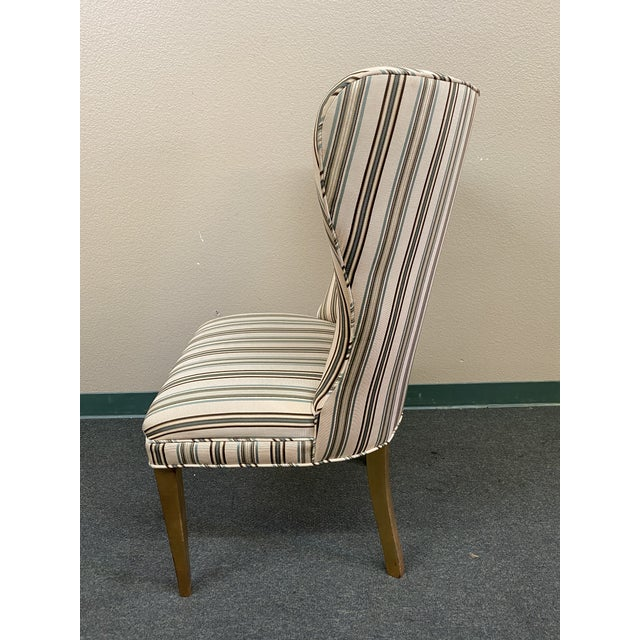 Wood Late 20th Century Custom Design Side Chairs - a Pair For Sale - Image 7 of 12