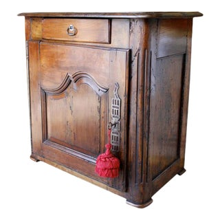 Louis XV Walnut Small Cabinet For Sale