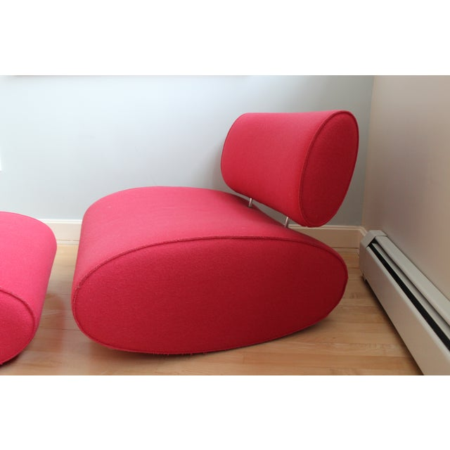 Paolo Lenti Chair And Ottoman - Image 3 of 4