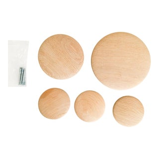 Tveit & Torne for Muuto Wood Coatrack Dots - Set of 5