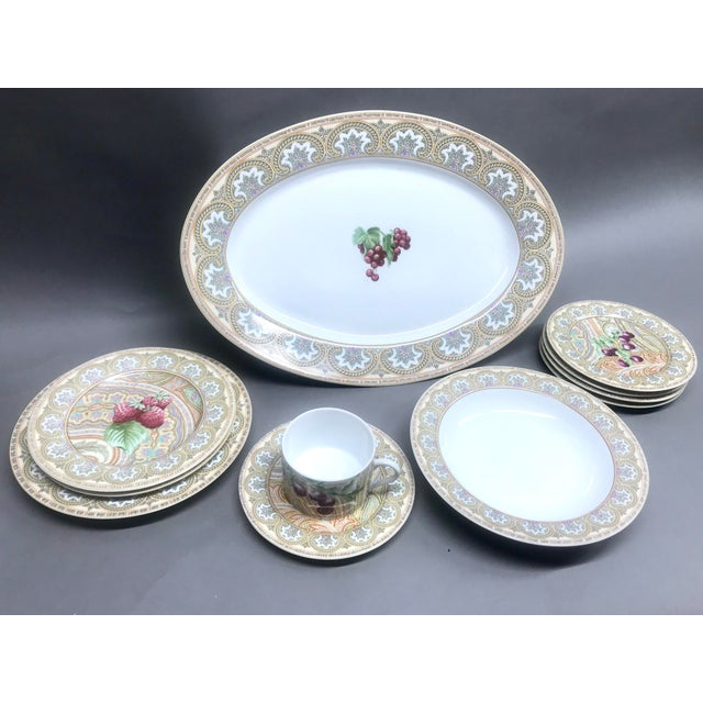 1960s Vintage Patrick Frey for Philippe Deshoulieres, Limoges France Dinnerware - 10 Pieces For Sale - Image 13 of 13