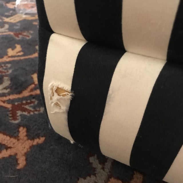 Vintage Directional Slipper Chairs - a Pair For Sale - Image 9 of 13