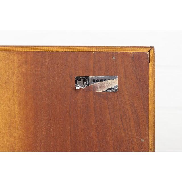 Mid Century Danish Modern Borge Mogensen Teak Wood Secretary Desk For Sale - Image 10 of 11