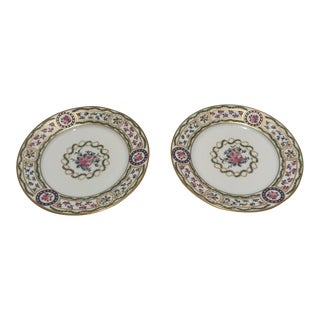 Haviland Limoges Louveciennes Bread and Butter China Plates - a Pair For Sale