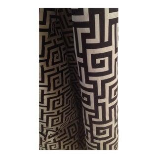 Geometric Greek Key Fabric - 3.5 +Yards