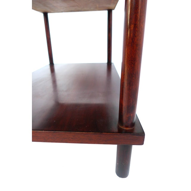 Robsjohn-Gibbings Tiered Side Table for Widdicomb For Sale - Image 9 of 10