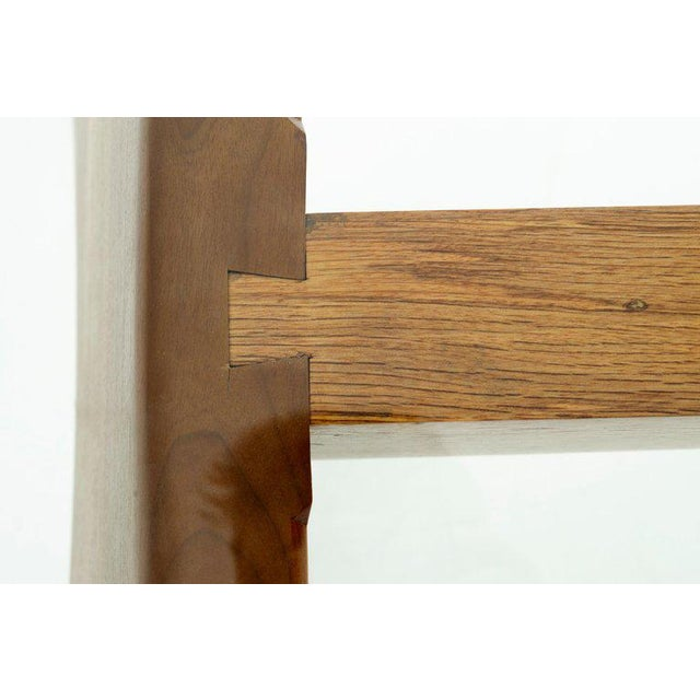 Glass 1970's California Craft Dining Table For Sale - Image 7 of 10