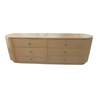 Karl Springer Style Wrapped Dresser