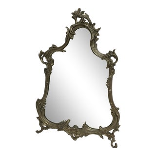 Art Nouveau Vanity Handing Mirror For Sale