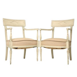 Image of Celadon Side Chairs