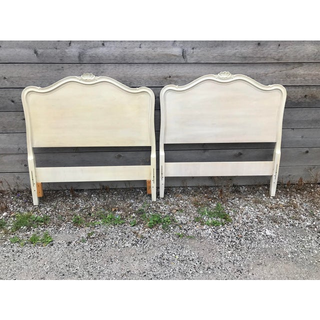 Drexel French Provincial Touraine Twin Head Boards - a Pair For Sale - Image 10 of 10