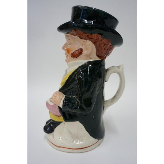 Punch and Judy Staffordshire Toby Jugs - Set of 4 For Sale - Image 9 of 11