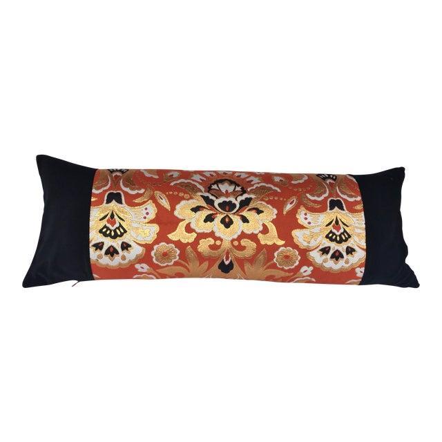 Handmade Japanese Obi Pillow - Image 1 of 3