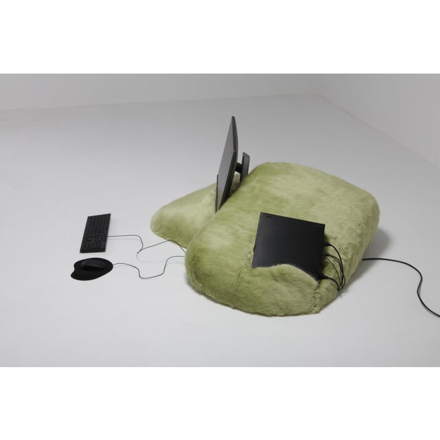 Pillow computer (prototype) developed at alfa.brussels. Schimmel & Schweikle is an ongoing collaboration between Janne...