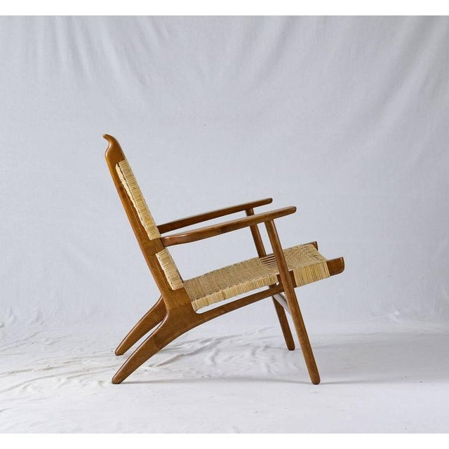1950s Hans Wegner CH-27 Lounge Chair For Sale - Image 5 of 10