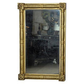 19th Century Over Mantel Mirror For Sale