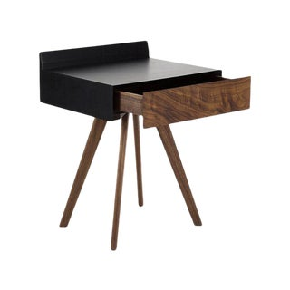 Droid Mahogany and Oak, Night Table by Atra For Sale