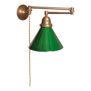 Swing Arm Wall Lamp, Switzerland 1930s For Sale