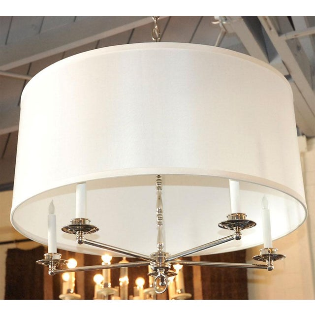 Paul Marra Design Five Arm Shaded Chandelier - Image 2 of 9