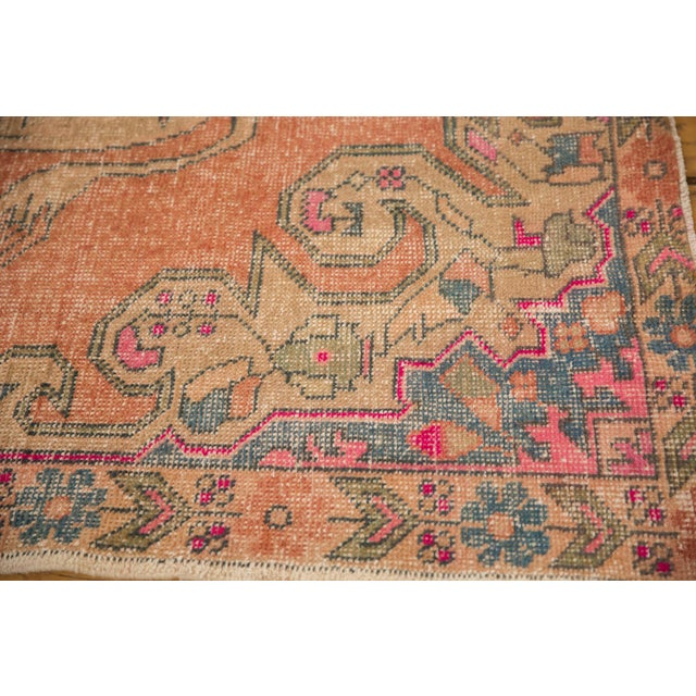 "Boho Chic Vintage Distressed Oushak Rug - 4'6"" X 6'11"" For Sale - Image 3 of 11"