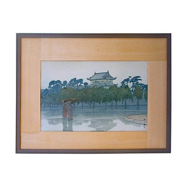 Vintage Japanese Woodblock by Hiroshi Yoshida - Image 1 of 5