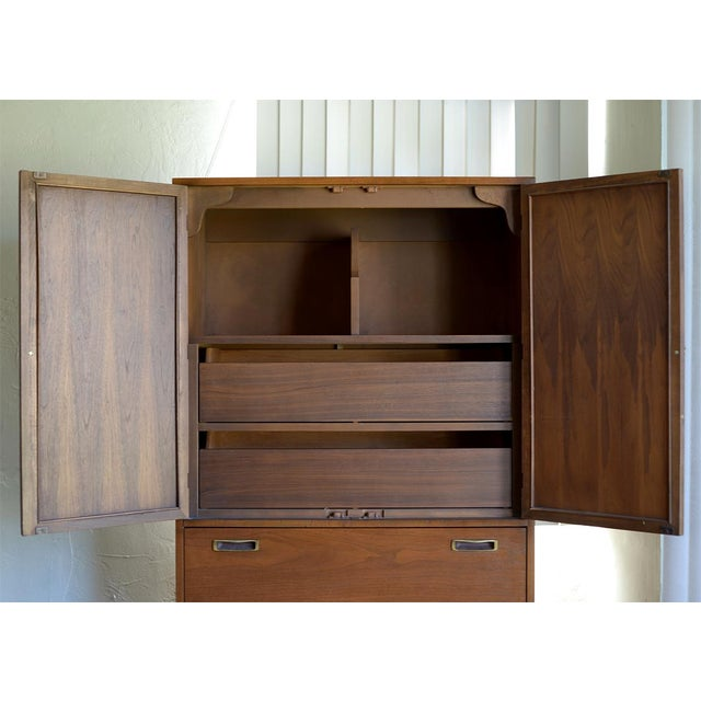 Mid-Century Modern Armoire Dresser - Image 5 of 7