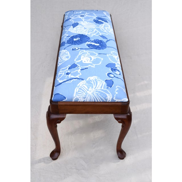 Queen Anne Bench by Century For Sale - Image 10 of 11
