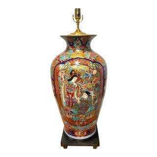 Fukagawa Imari Vase, Now as a Lamp
