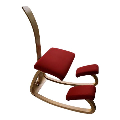 Varier Variable Balans Kneeling Chair With Backrest For Sale