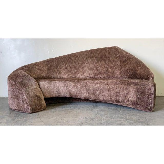 Vladimir Kagan Style Biomorphic Post Modern Sofa For Sale In Los Angeles - Image 6 of 6