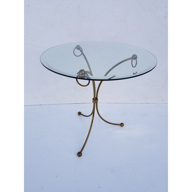 Neoclassical Maison Jansen Style Gueridon Table For Sale In Miami - Image 6 of 9