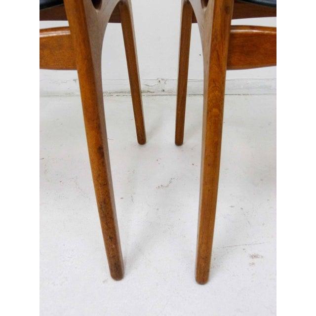 Svend Madsen for Sigurd Hansen Model 60 Dining Chairs - Set of 6 For Sale - Image 9 of 10