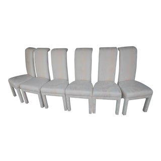 Formal Dining Room Chairs - Set of 6 For Sale