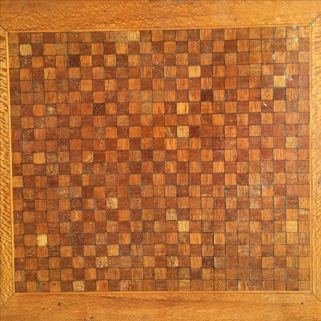 1820s English Walnut Nesting Tables, Signed - 4 - Image 5 of 11