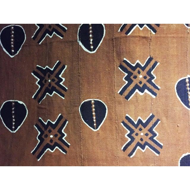 Bogolan Mali Mud Cloth Textile For Sale - Image 10 of 11