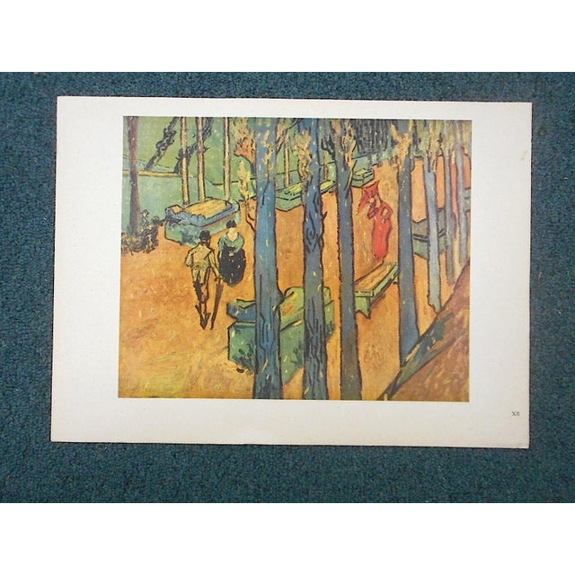 Lithograph Vintage Ltd. Ed. Post-Impressionist Lithograph-Vincent Van Gogh (Fr. 1853-'90) For Sale - Image 7 of 7