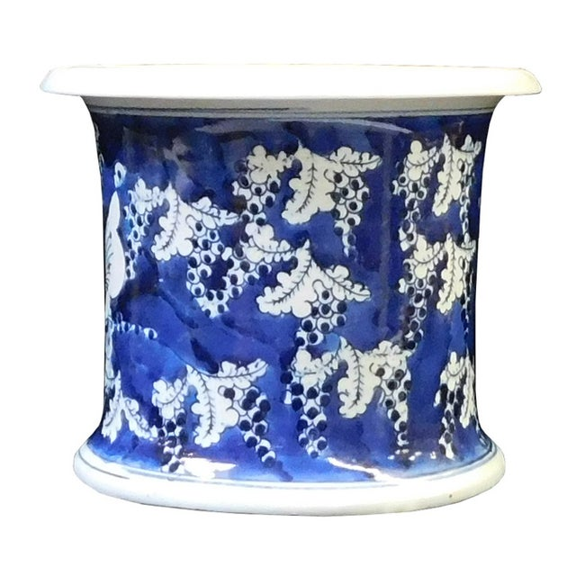Chinese Blue & White Porcelain Butterfly Bowl - Image 1 of 6