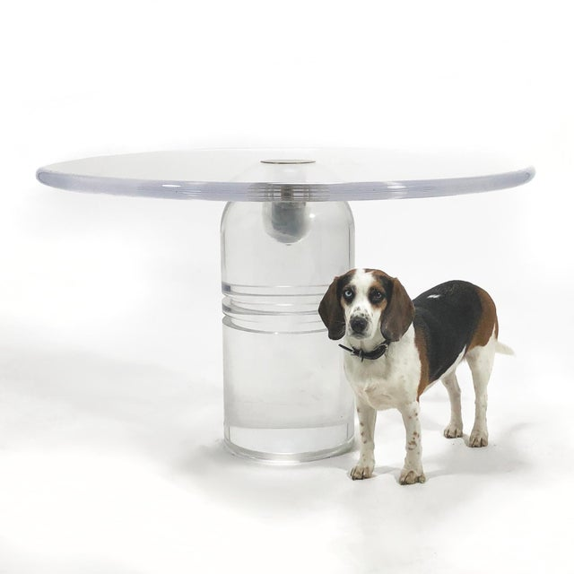 "Charles Hollis Jones ""Le Dome"" Table For Sale - Image 9 of 10"