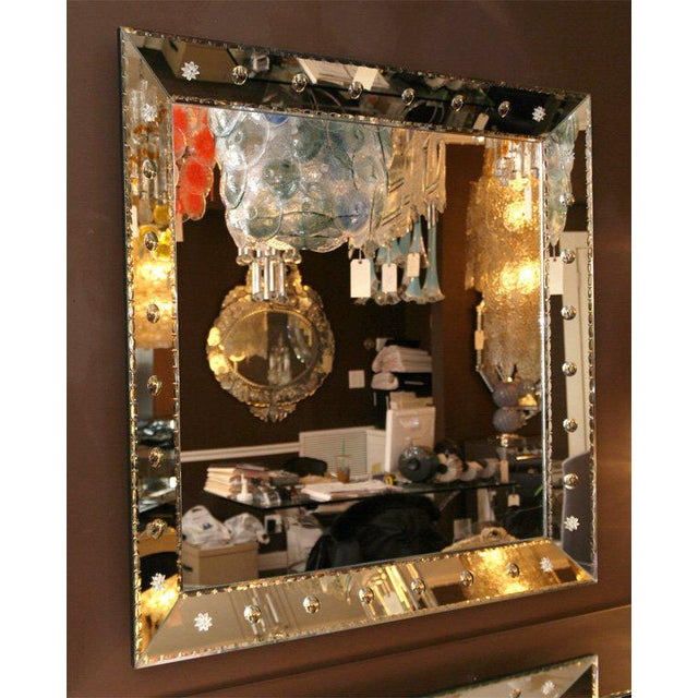 Custom-Made Dot Mirror For Sale In New York - Image 6 of 6