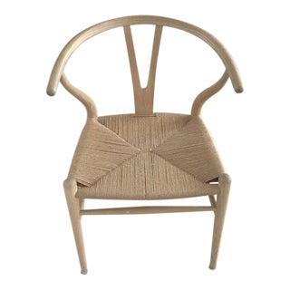 Contemporary Danish Modern Wishbone Chairs