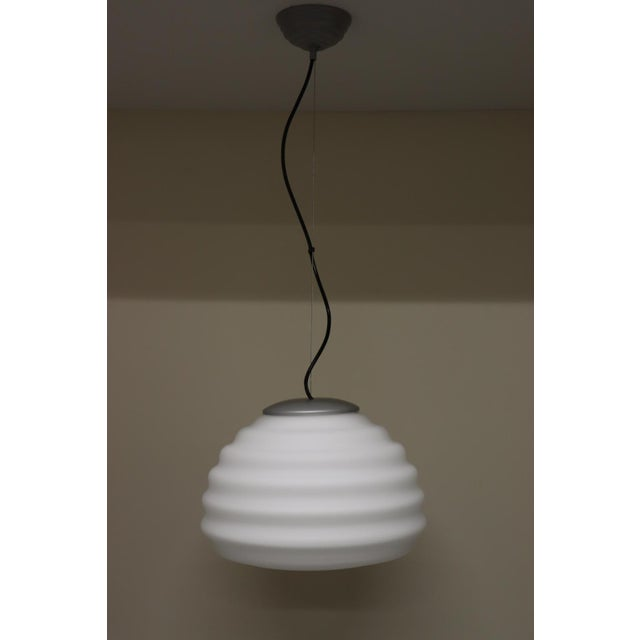 Mid-Century Modern Murano Glass Pendant Lamp For Sale - Image 12 of 12