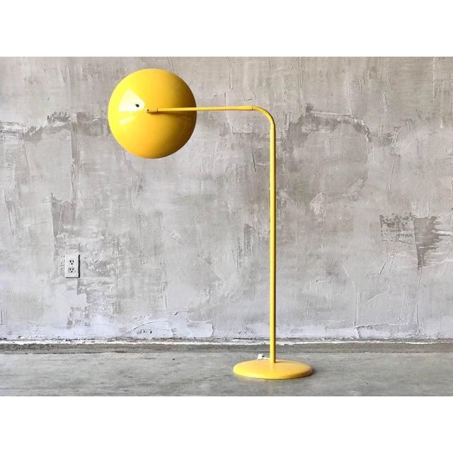 Mid-Century Modern Kurt Versen Floor Lamp For Sale - Image 3 of 5