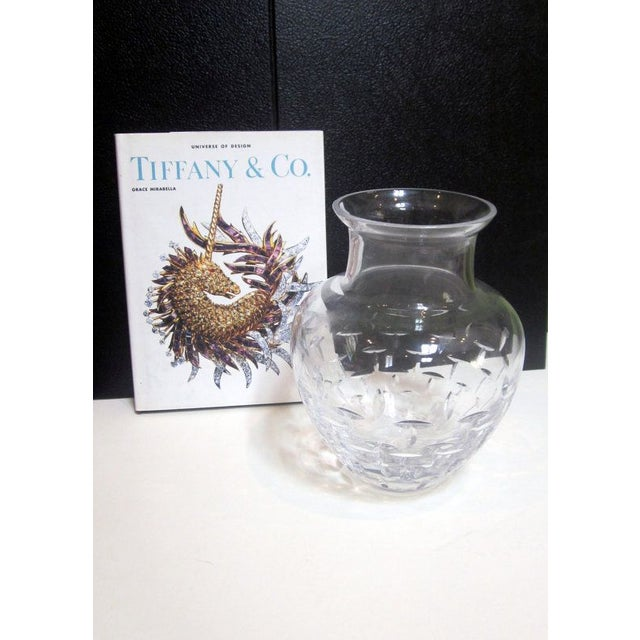 Authentic Tiffany Crystal Glass Vase - Image 4 of 7