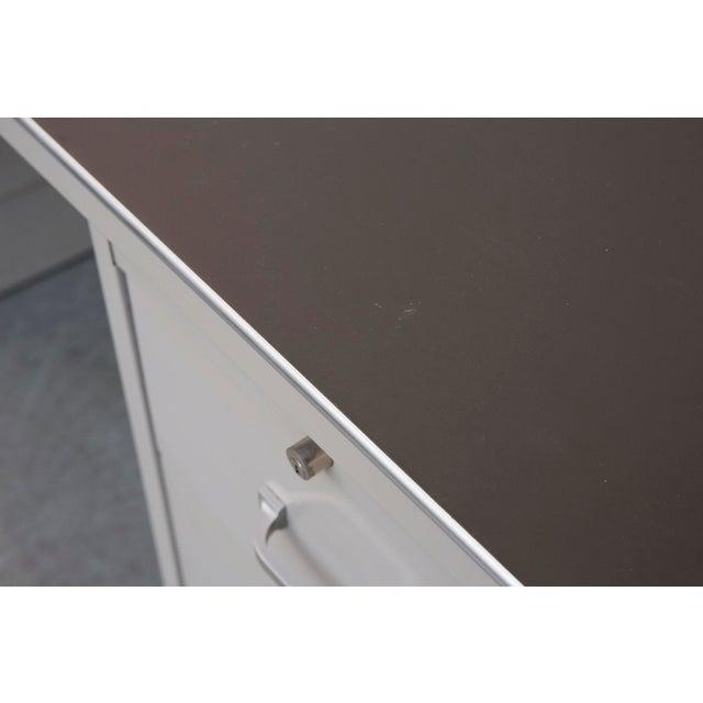 Industrial Metal Mini Tank Desk - Image 8 of 10