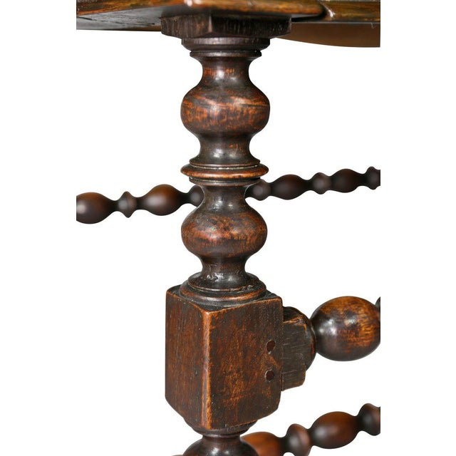 Charles II Oak Tavern Table For Sale In Boston - Image 6 of 12